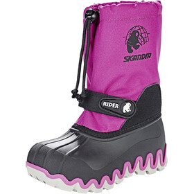 High Colorado Snowy Boots hiver Enfant, black/pink